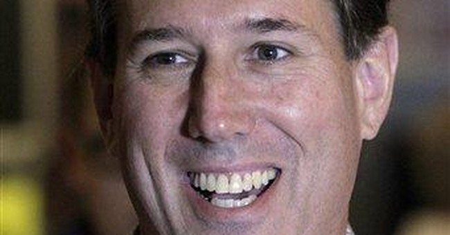 Santorum complains it isn't easy being him