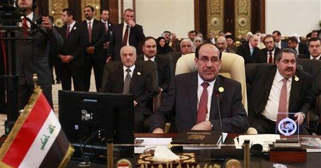 Premier calls Arab summit 'turning point' for Iraq
