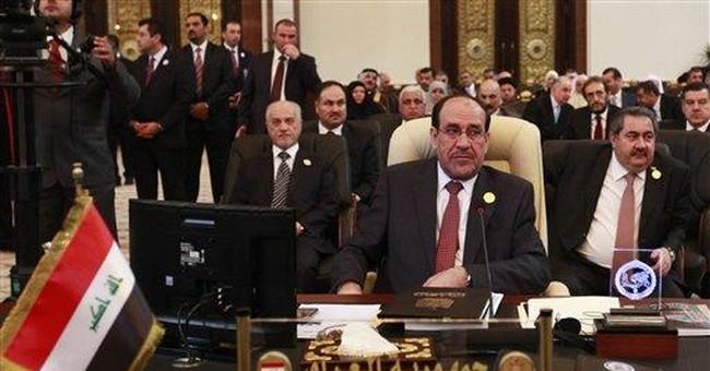 Premier calls Arab summit 'turning point' for Iraq