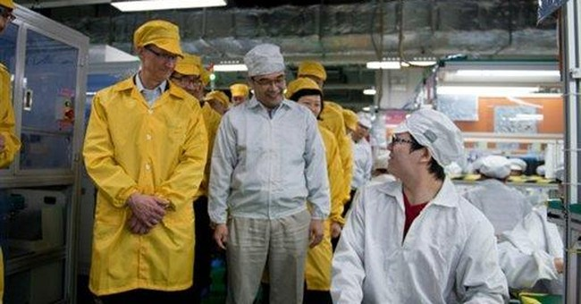 Apple assembly line gets pay raise, fewer hours