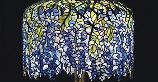 Calif. pub's Tiffany lamps coming to NYC auction