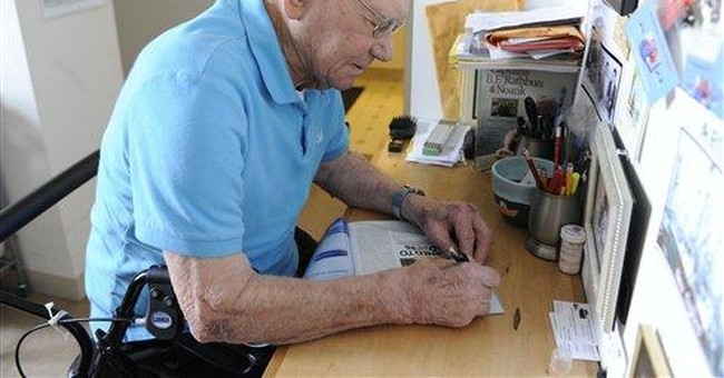 At 98, once-illiterate lobsterman is an author