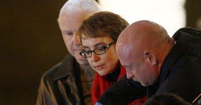 Rep. Giffords leads Tucson shooting remembrance