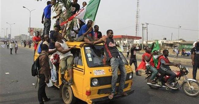 Strike over fuel prices paralyzes oil-rich Nigeria