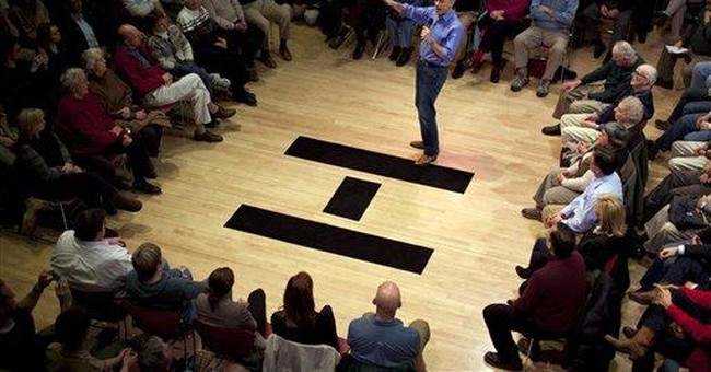 In NH, GOP voters' questions often omit jobs