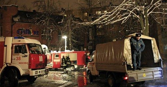 Gas explosion at Moscow restaurant kills 2