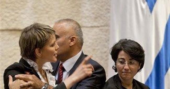 Israel: Parliament suspends water-tossing lawmaker