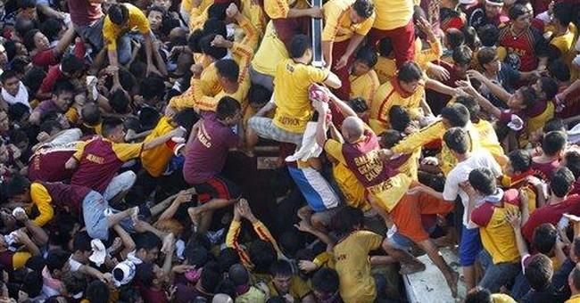 Millions of Filipino devotees defy terror warning