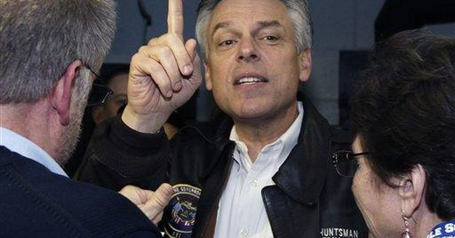 Huntsman looks for independent rise