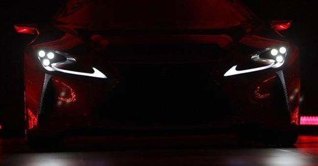 Lexus unveils LF-LC hybrid, a concept sport coupe