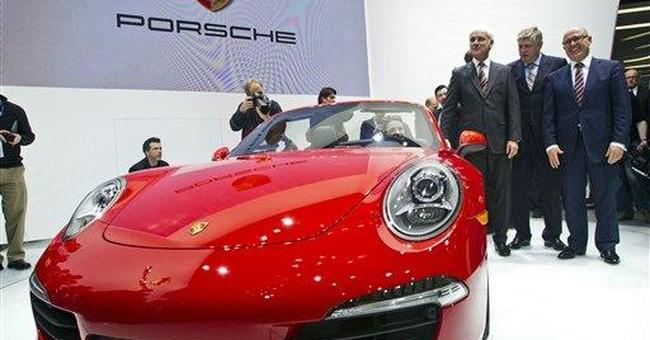 Porsche unveils convertible version of new 911