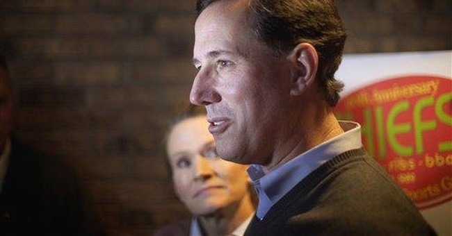 Santorum's NH experience different from Iowa