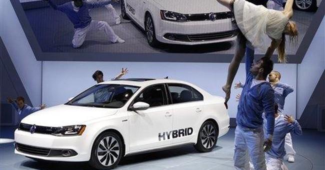 Volkswagen shows off hybrid Jetta