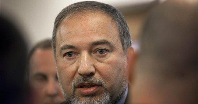 Israeli foreign minister: Redraw map to oust Arabs
