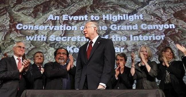 US bans new mining claims near Grand Canyon