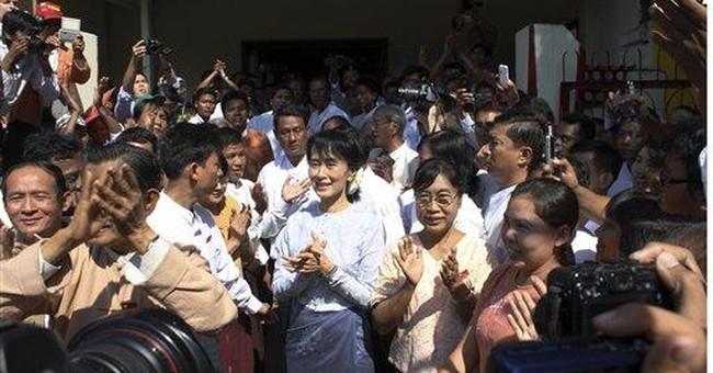 Myanmar's Suu Kyi confirms run for parliament seat