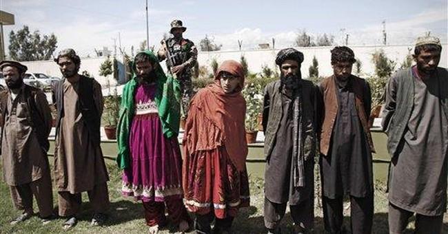 Afghan village policeman kills 9 comrades