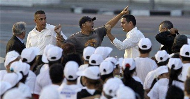 Cuba dissident identifies papal Mass protester
