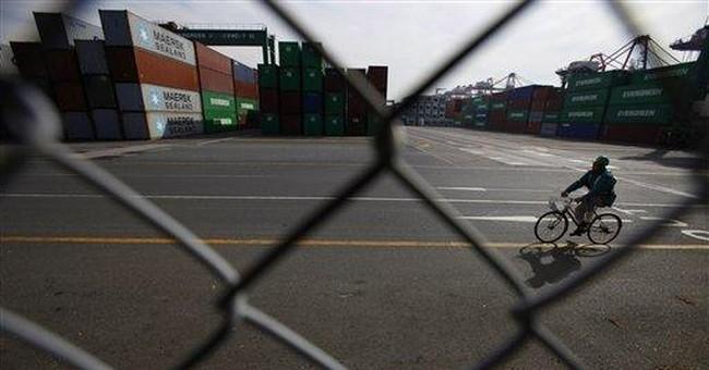 Japan industrial output down on weak export demand