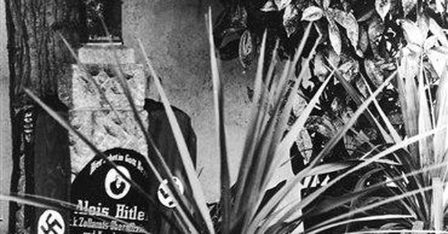 Headstone of Hitlers' parents' grave removed