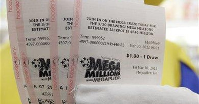Americans bet nearly $1.5B to win record jackpot