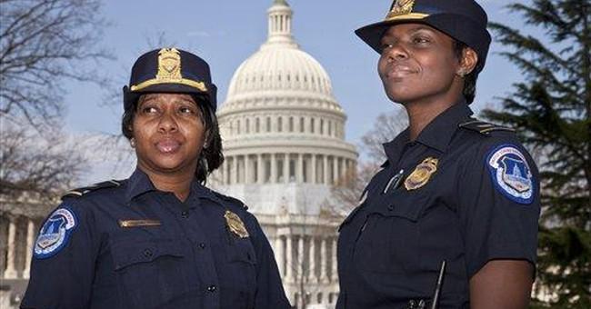 Capitol Police promotes 1st black female captains