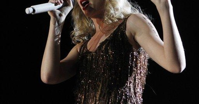 Taylor Swift's date for ACM Awards hospitalized