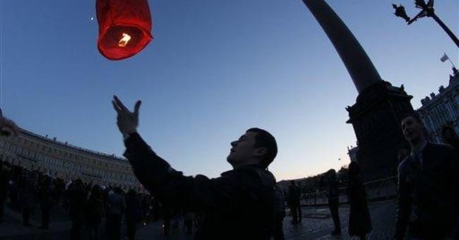 World landmarks dimmed for Earth Hour