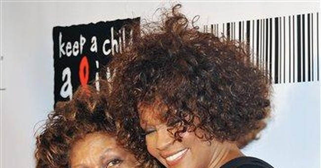Whitney Houston's mom says she's proud of her