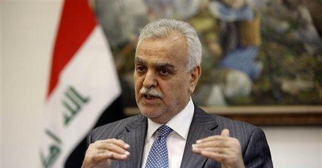 Iraq's fugitive vice president in Saudi Arabia