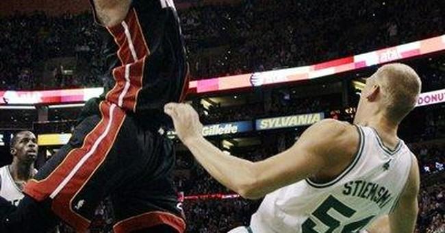 Rondo has triple-double as Celtics rout Heat 91-72