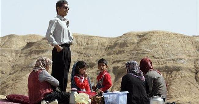 Iranians celebrate ancient festival