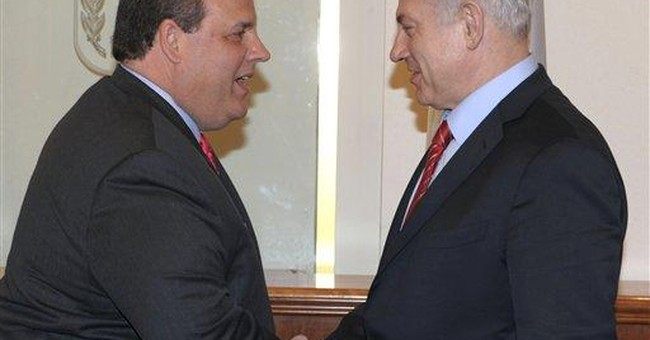 Christie in Israel on 1st official overseas trip