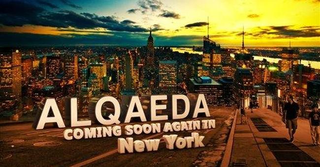 Online graphic warns of al-Qaida return to NYC