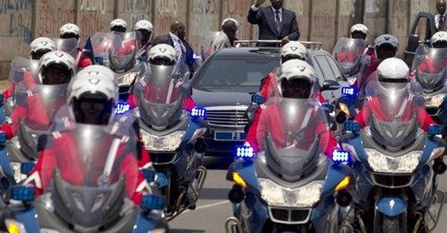 Senegal's new president inherits economic woes