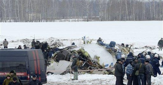 Russia: Siberian plane in crash not de-iced right