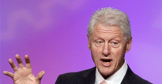 Bill Clinton: Obama can argue he steadied economy