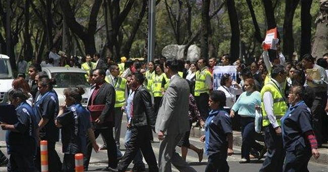 Aftershock shakes Mexico, no injuries reported