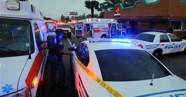 Man charged in shooting of 5 at Miss. eatery