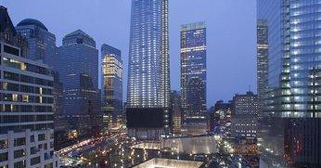 1 World Trade Center reaches 100 floors