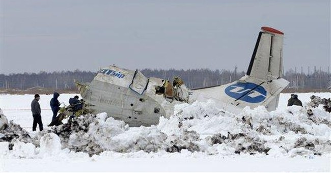 Russian crash probe rules out engine trouble