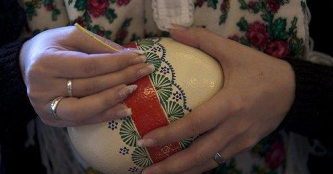 German minority keeps Easter egg tradition alive