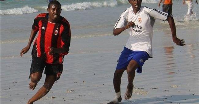 Sports, art, streetlights: A new life in Mogadishu