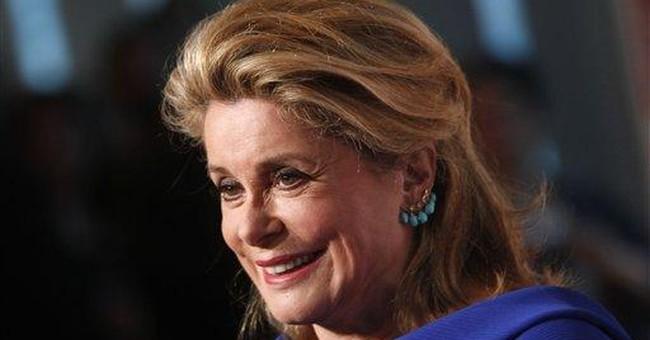 Deneuve, icon of French cinema, honored in NY