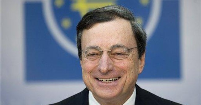ECB's Draghi: Premature to talk of loan exit