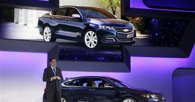 Chevy hopes new Impala will revive big-car sales