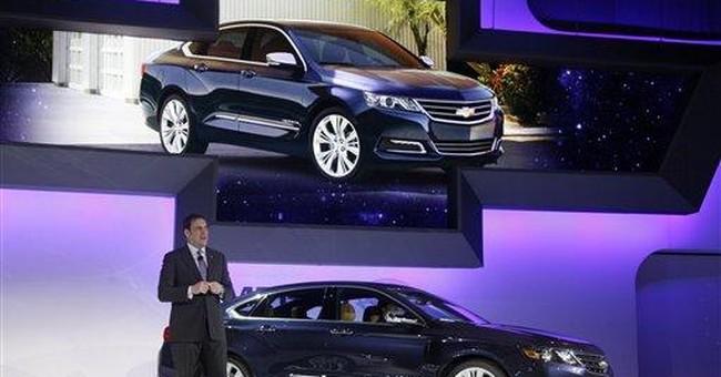 Chevy hopes new Impala will revive big-car sales