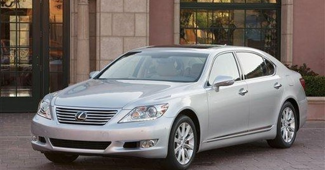 Value in a luxury sedan: Lexus LS