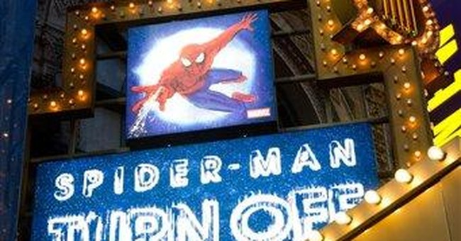 Stuntman claims he was injured at NY 'Spider-Man'