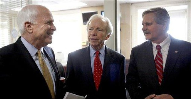 GOP's McCain to Santorum: Time for 'graceful exit'